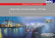 Modern Ways of Container Handling – CTA Today - PORT-NET