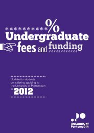 Undergraduate Fees and Funding Brochure 2012 - University of ...