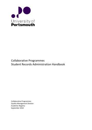 Collaborative Nursing Student Handbook ~ Pyfl handbook jul final version