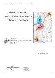 Machbarkeitsstudie Touristische ... - Dhp-sennestadt.de