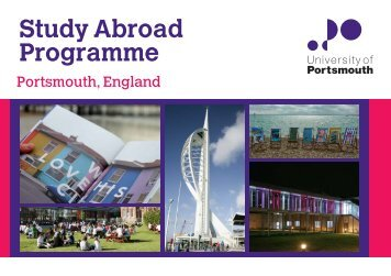 Study Abroad Programme - University of Portsmouth