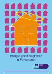 Being a good neighbour in Portsmouth - University of Portsmouth