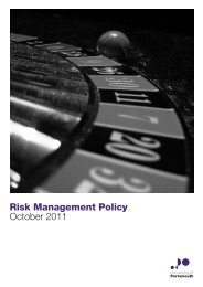 Risk Management Policy October 2011 - University of Portsmouth