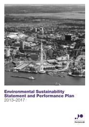 Environmental and Sustainable Development Plan - University of ...