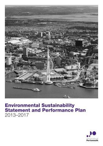Environmental and Sustainable Development Plan - University of ...