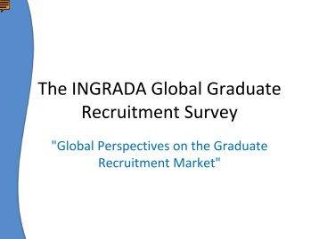 The INGRADA Global Graduate Recruitment Survey
