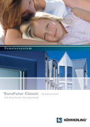 classic fv mit Aluschale.qxp - Porta Fenster
