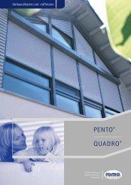 roma - Vorbaurollladen und -raffstoren - Porta Fenster