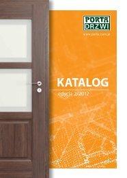 Katalog produktów PORTA -edycja 2/2012