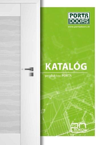 KAtAlóG - bezpečnostné dvere