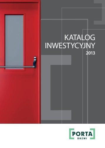 Katalog inwestycyjny 2013 - Porta