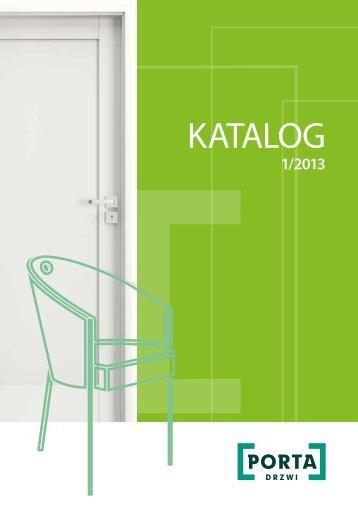 Katalog produktów PORTA - edycja 1/2013