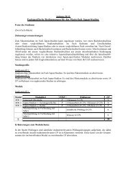 Anhang B13 Fachspezifische Bestimmungen für das Masterfach ...