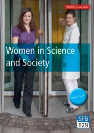 Women in Science and Society