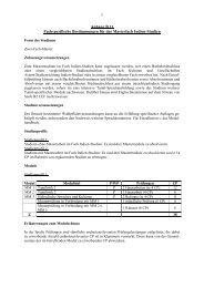 Anhang B11 Fachspezifische Bestimmungen für das Masterfach ...