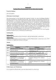 Anhang B9 Fachspezifische Bestimmungen für das Masterfach ...