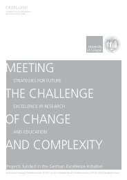 Meeting the Challenge of Change and CoMplexity - Universität zu ...