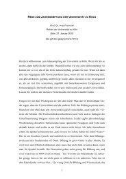 1 Herzlich willkommen zum Jahresempfang der Universität zu Köln ...