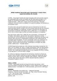 APAS mobiliza Sorocaba para apresentar a maior feira ...