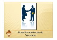 Novas Competências do Comprador - Apas