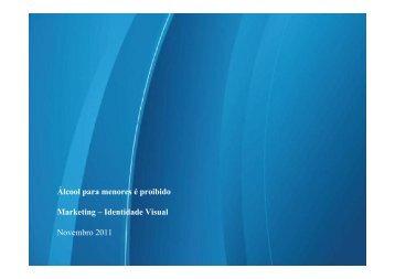 Álcool para menores é proibido Marketing - Identidade Visual ... - Apas