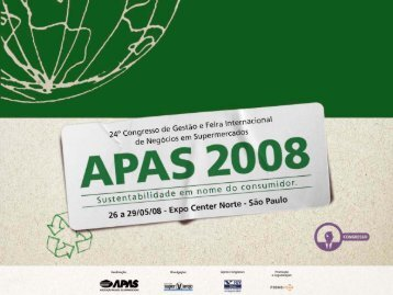 """Pesquisa """"Retrato do Varejo"""" 2008 - Apas"""