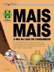 O MIX NA CASA DO CONSUMIDOR - Apas