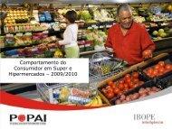 Comportamento do Consumidor em Super e Hipermercados ... - Apas