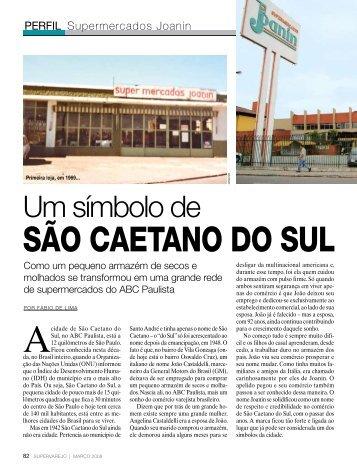 SÃO CAETANO DO SUL - Apas