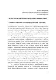 Conflicto, noticias e inmigración: construyendo una identidad excluida