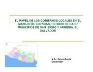estudio de caso municipios de san isidro y ... - Portal Cuencas