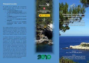 Congreso internacional de Pago por Servicios ... - Portal Cuencas