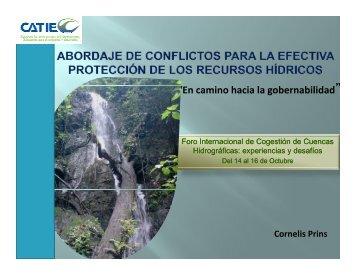"""""""En camino hacia la gobernabilidad"""" - Portal Cuencas"""