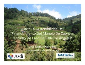 Hacia La Sostenibilidad Del Hacia La ... - Portal Cuencas