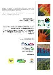 INFORME FINAL DE LA CONSULTORÍA ... - Portal Cuencas