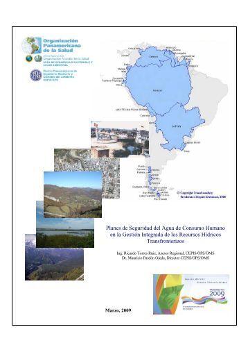 Planes de Seguridad del Agua de Consumo Humano en la ... - BVSDE