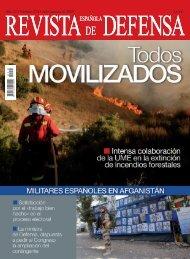 Revista Española de Defensa nº 254. Julio-Agosto 2009 - Portal de ...