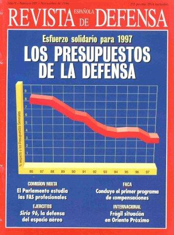 Nº 105 1996 Noviembre - Portal de Cultura de Defensa - Ministerio ...