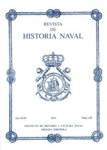 REVISTA DE HISTORIA NAVAL 120 - Portal de Cultura de Defensa
