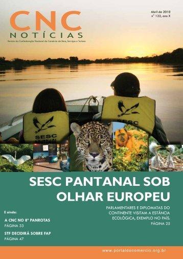 SESC PANTANAL SOB OLHAR EUROPEU - CNC