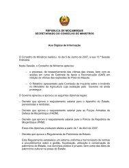 (13 SOCM) 13ª Sessão Ordinária - 05 de Junho 2007 - Portal do ...