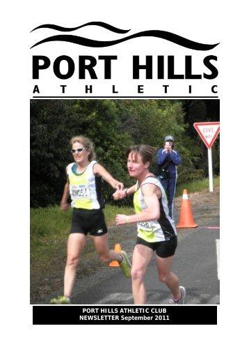 PHA Webletter Sept 2011.pub - Port Hills Athletic Club