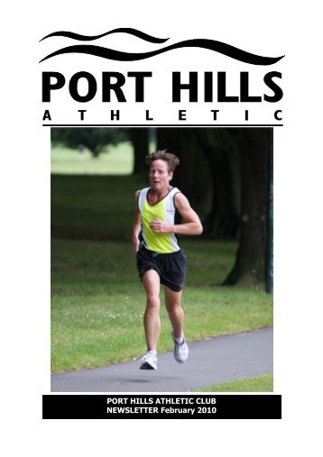 PHA Webletter Feb'10.pub - Port Hills Athletic Club