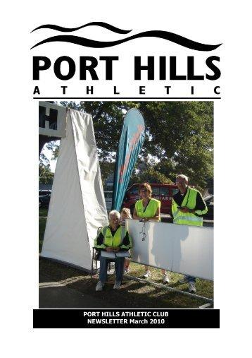 PHA Webletter Mar10.pub - Port Hills Athletic Club