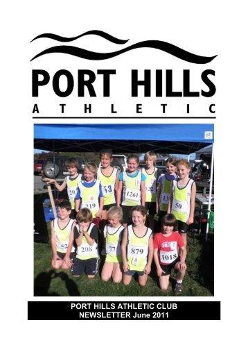 PORT HILLS ATHLETIC CLUB NEWSLETTER June 2011