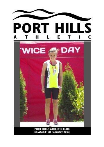 PHA Webletter February 2013.pub - Port Hills Athletic Club