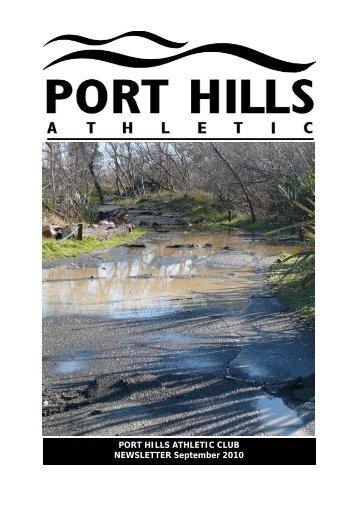 PHA Webletter Sep10.pub - Port Hills Athletic Club