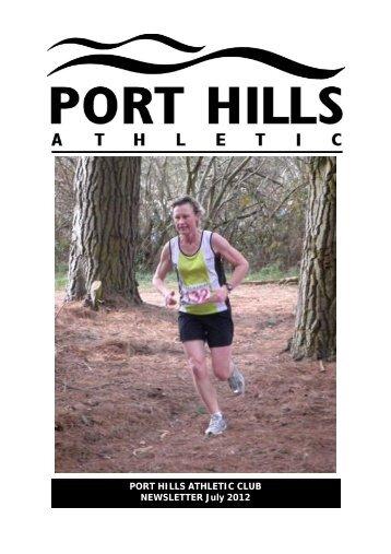 Download PDF of July 2012 newsletter - Port Hills Athletic Club