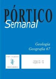 Geología - Geografía 67 - Pórtico librerías