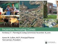 Incentive Housing Zones - Town of Portland